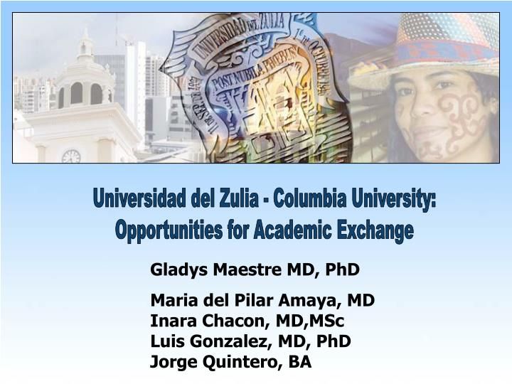Universidad del Zulia - Columbia University: