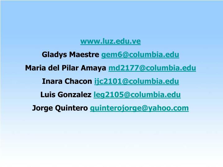 www.luz.edu.ve