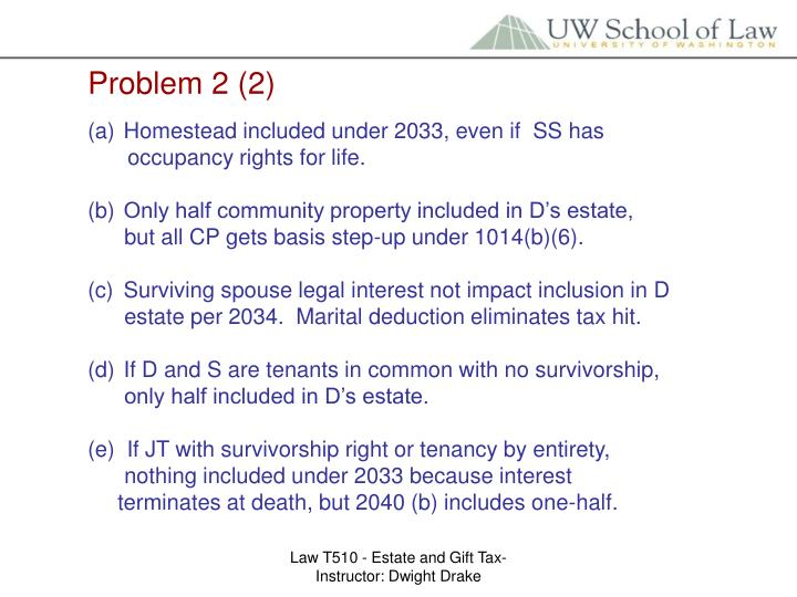 Problem 2 (2)
