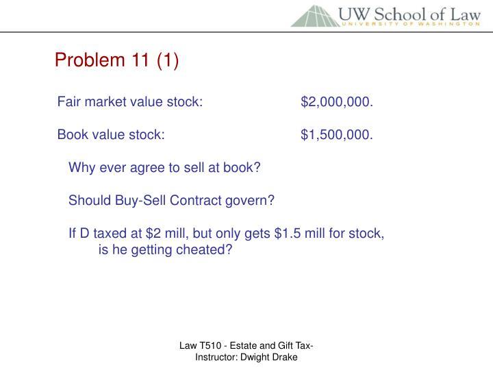 Problem 11 (1)