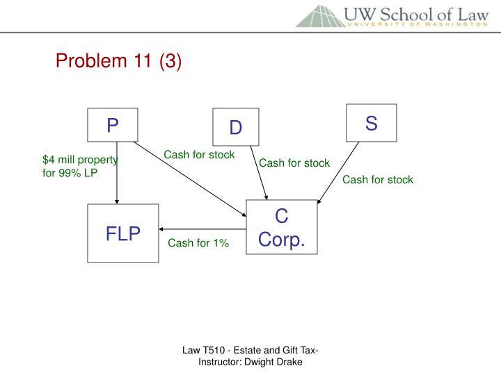 Problem 11 (3)