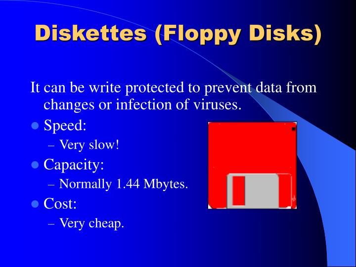 Diskettes (Floppy Disks)
