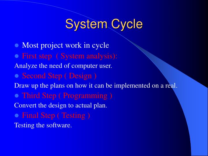 System Cycle
