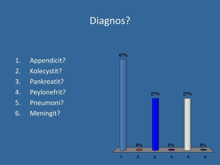 Diagnos?