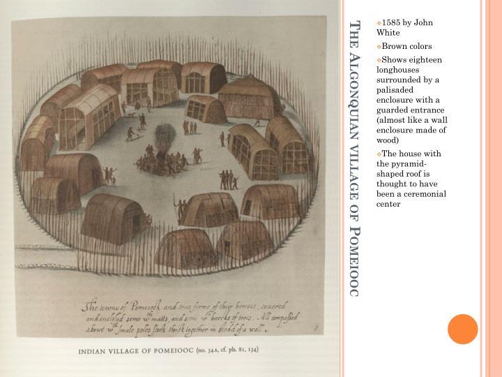 1585 by John White
