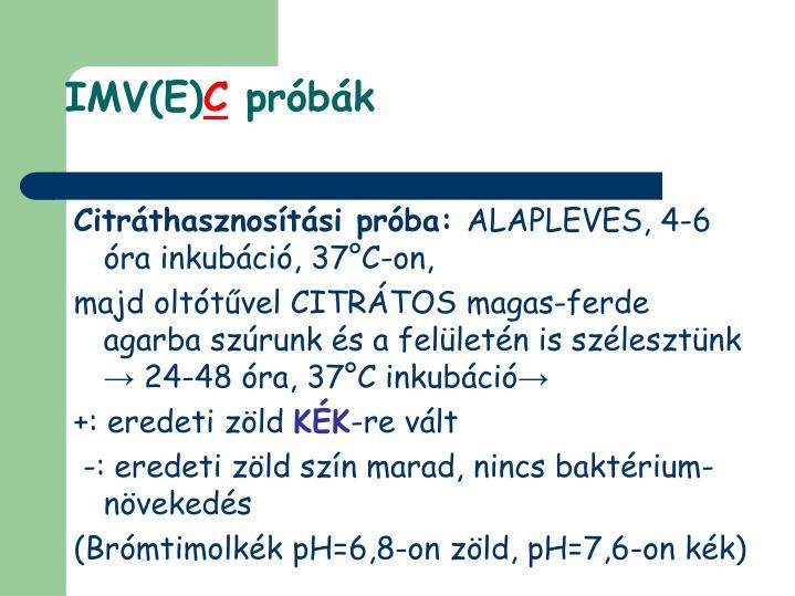 IMV(E)