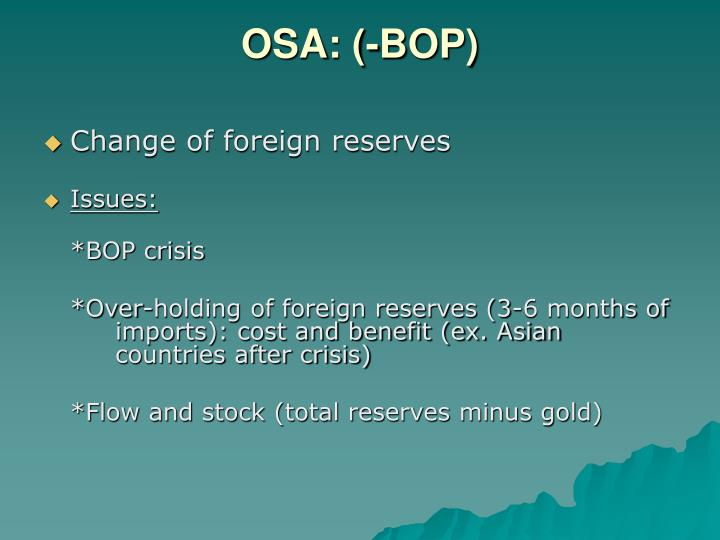 OSA: (-BOP)