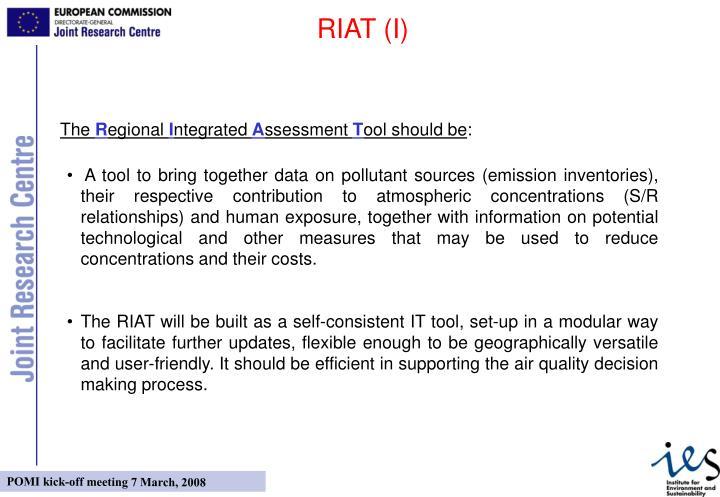 RIAT (I)
