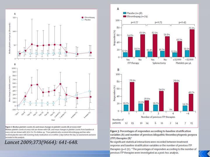 Lancet 2009;373(9664): 641-648.