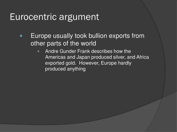 Eurocentric argument