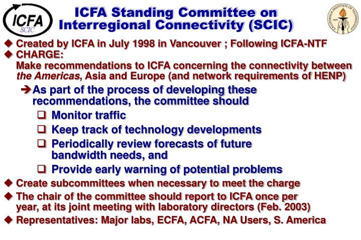 ICFA Standing Committee on