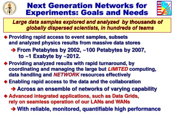 Next Generation Networks for
