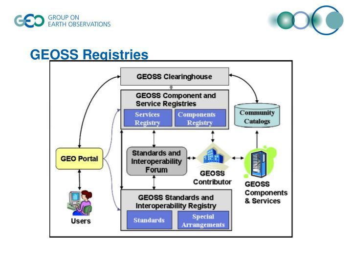 GEOSS Registries