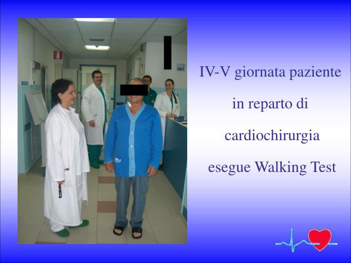 IV-V giornata paziente