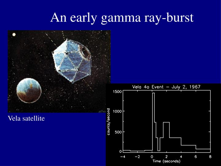 An early gamma ray-burst