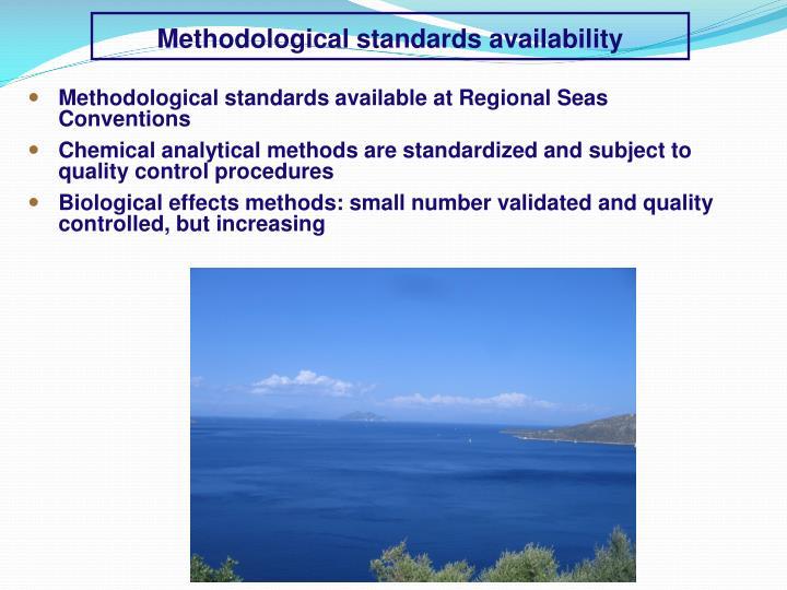 Methodological standards availability
