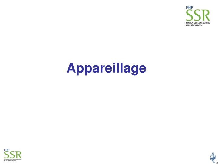 Appareillage