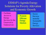 esmap s agenda energy solutions for poverty allevation and economic growth