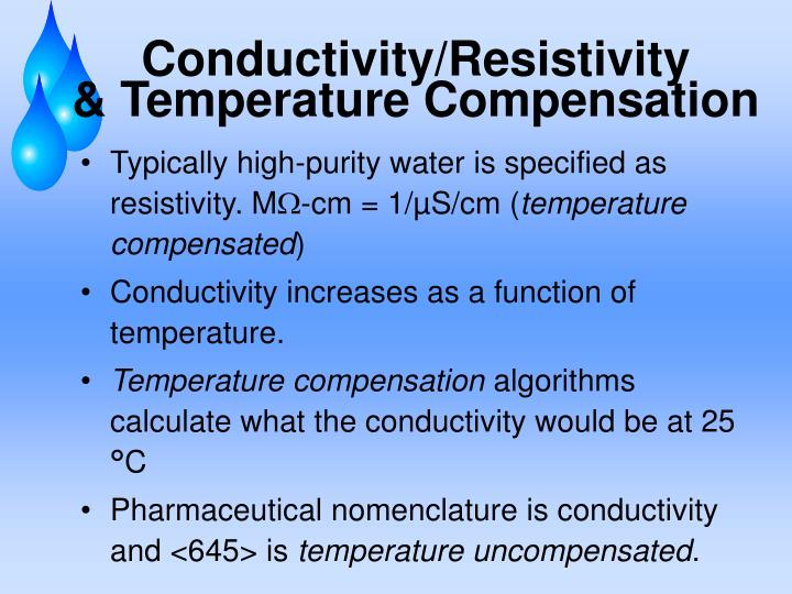 Conductivity/Resistivity