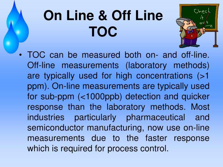 On Line & Off Line TOC