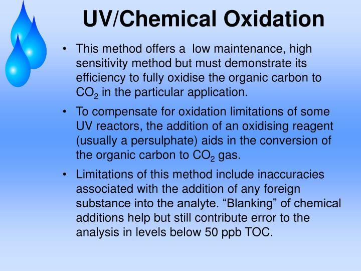 UV/Chemical Oxidation