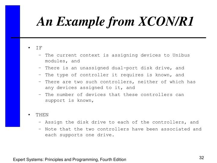 An Example from XCON/R1