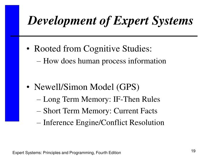 Development of Expert Systems