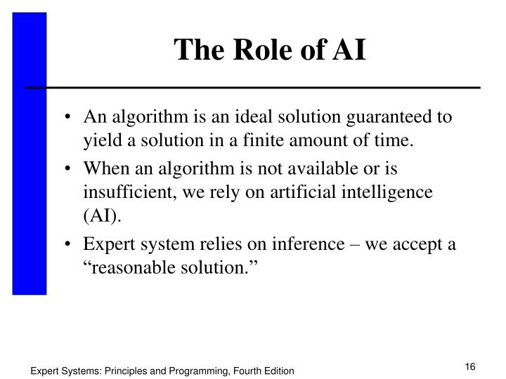 The Role of AI
