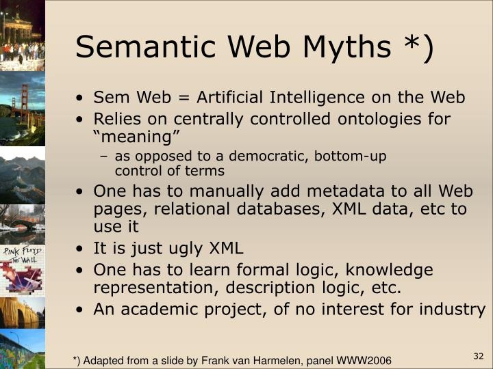 Semantic Web Myths