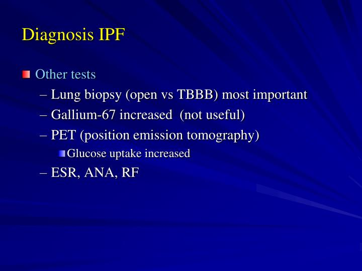 Diagnosis IPF