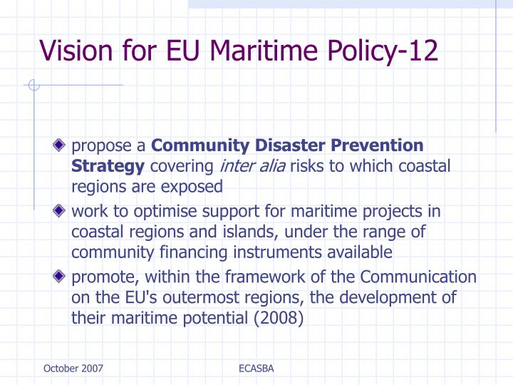 Vision for EU Maritime Policy-12