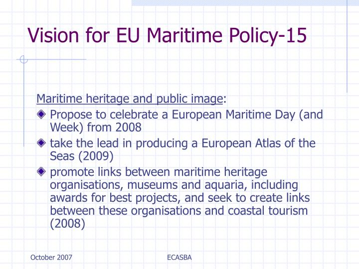 Vision for EU Maritime Policy-15