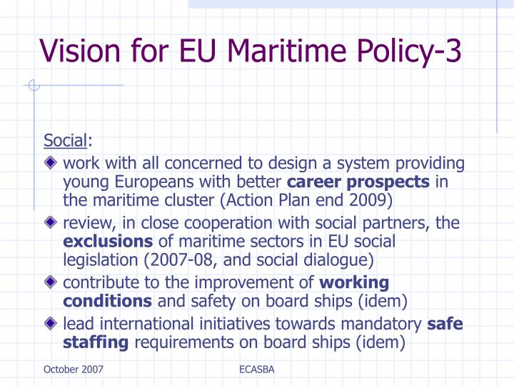 Vision for EU Maritime Policy-3