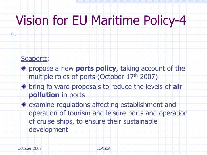 Vision for EU Maritime Policy-4