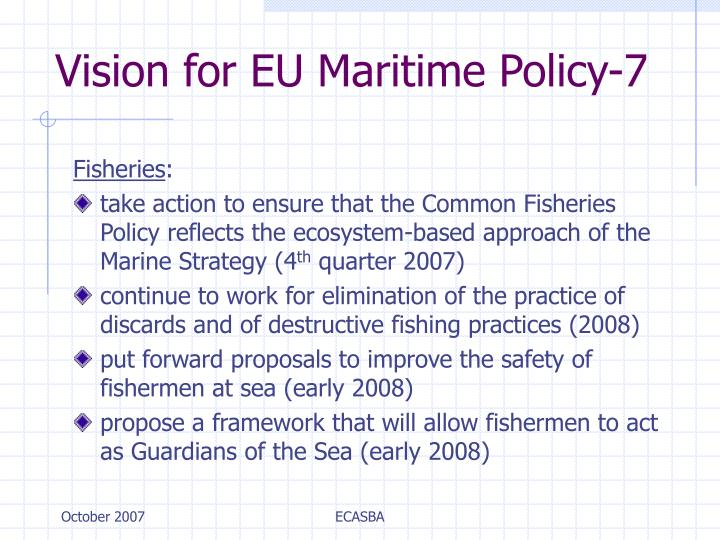 Vision for EU Maritime Policy-7