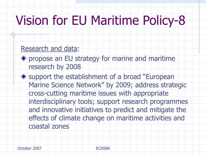 Vision for EU Maritime Policy-8