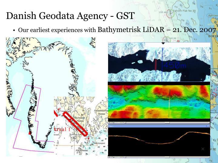 Danish Geodata Agency - GST