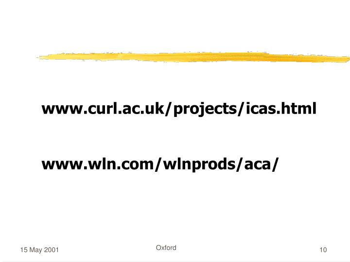 www.curl.ac.uk/projects/icas.html