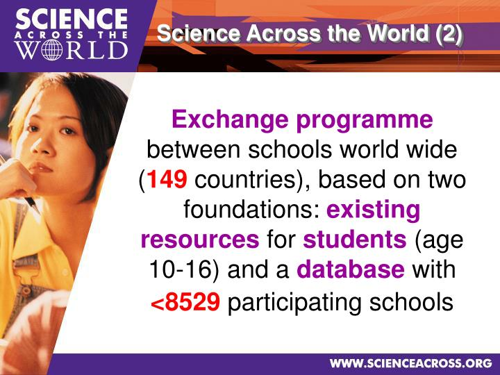 Science Across the World (2)