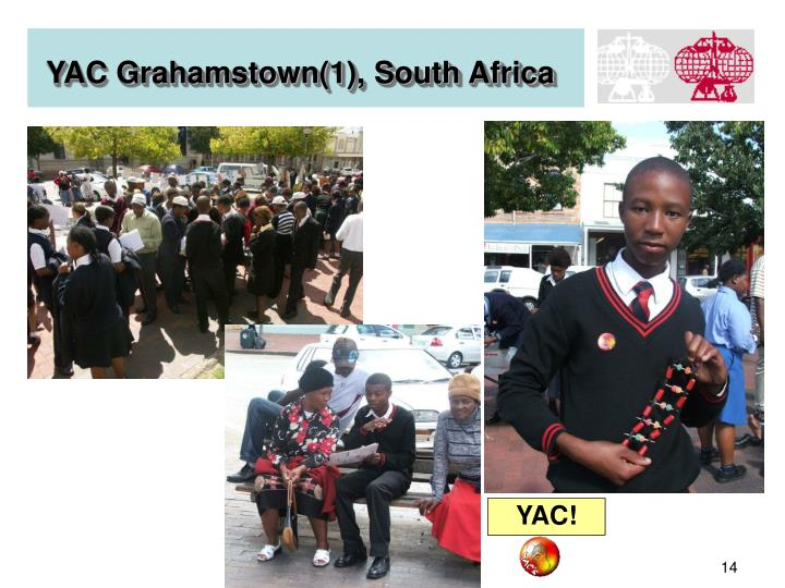 YAC Grahamstown(1), South Africa