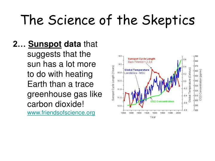 The Science of the Skeptics