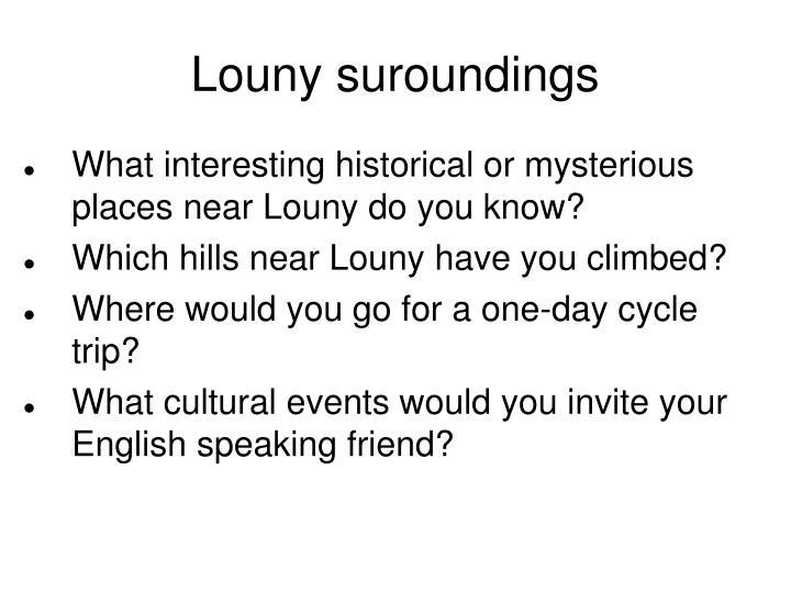 Louny suroundings
