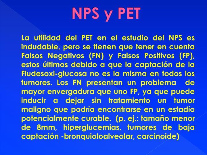 NPS y PET