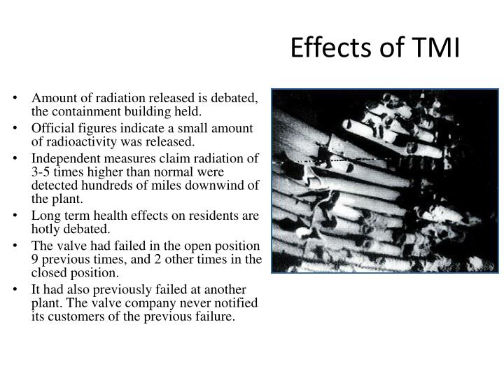 Effects of TMI