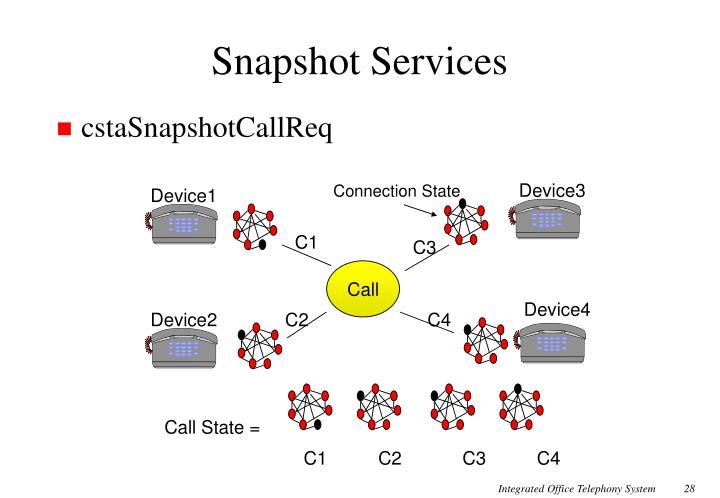 Snapshot Services