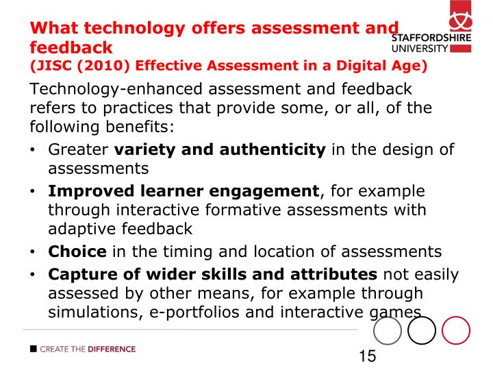 an overview of technology assessment My efforts to stay on top of the online screening and assessment marketplace have proven to be an interesting this is a very challenging market ó one that is not easy to sum up in a few.