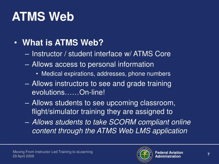 ATMS Web