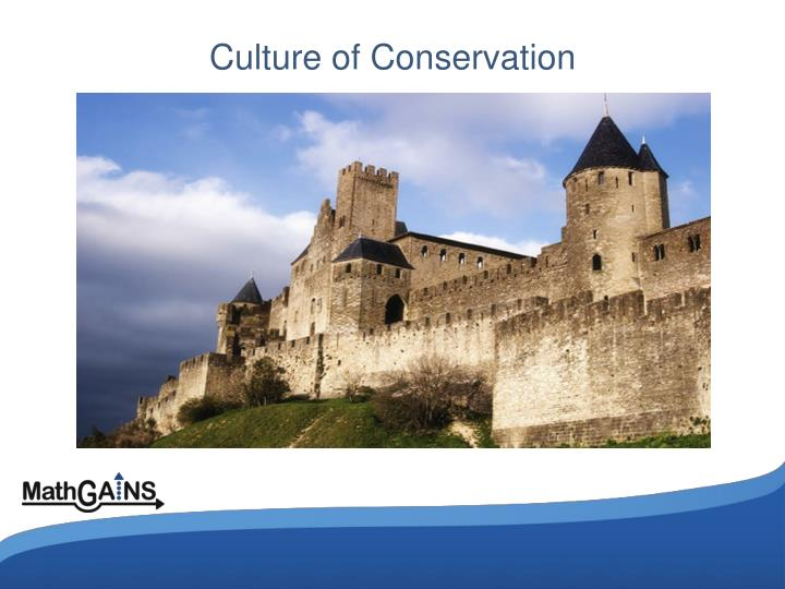 Culture of Conservation