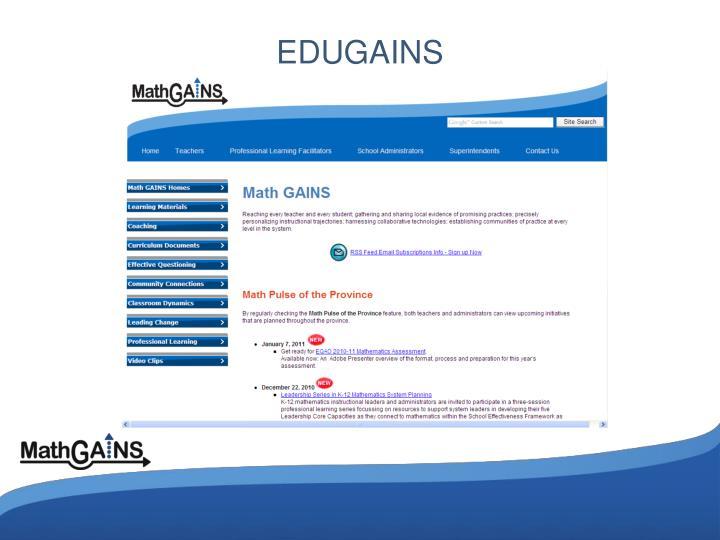 EDUGAINS