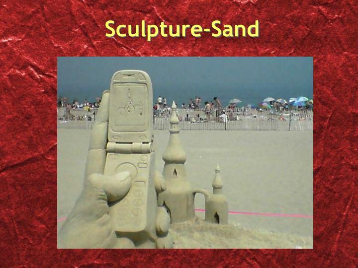 Sculpture-Sand